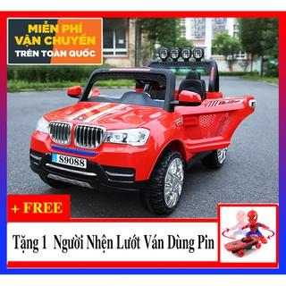 Xe ô tô điện trẻ em Bánh Cao Su S9088