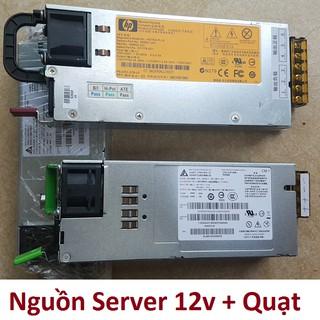 Nguồn Server 12v, có quạt, đã kích hoạt 450w hoặc 700w hoặc 1200w thay thế nguồn tổ ong