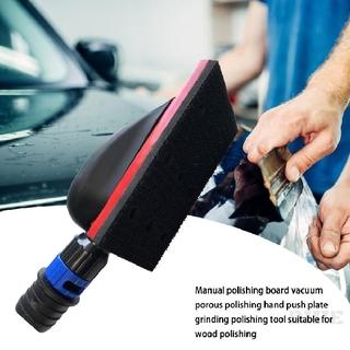 Dustless Grinder Vacuum Hand Plate Push Wood Polishing Grinding Plate Sheet 598
