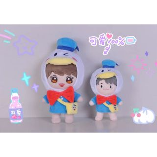 Outfit Vịt Donald doll 20cm