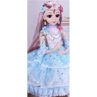 búp bê BJD công chúa cao cấp 60cm nhiều phụ kiện siêu đẹp (9 mẫu BB)