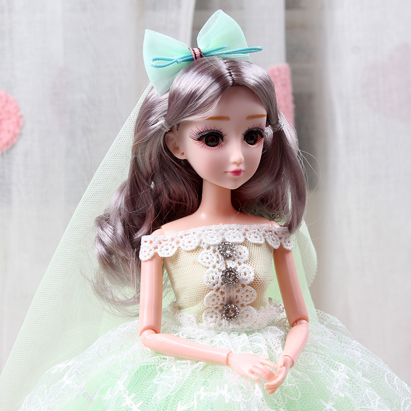 Bộ Đồ Chơi Búp Bê Công Chúa Barbie Xinh Xắn Cho Bé Gái