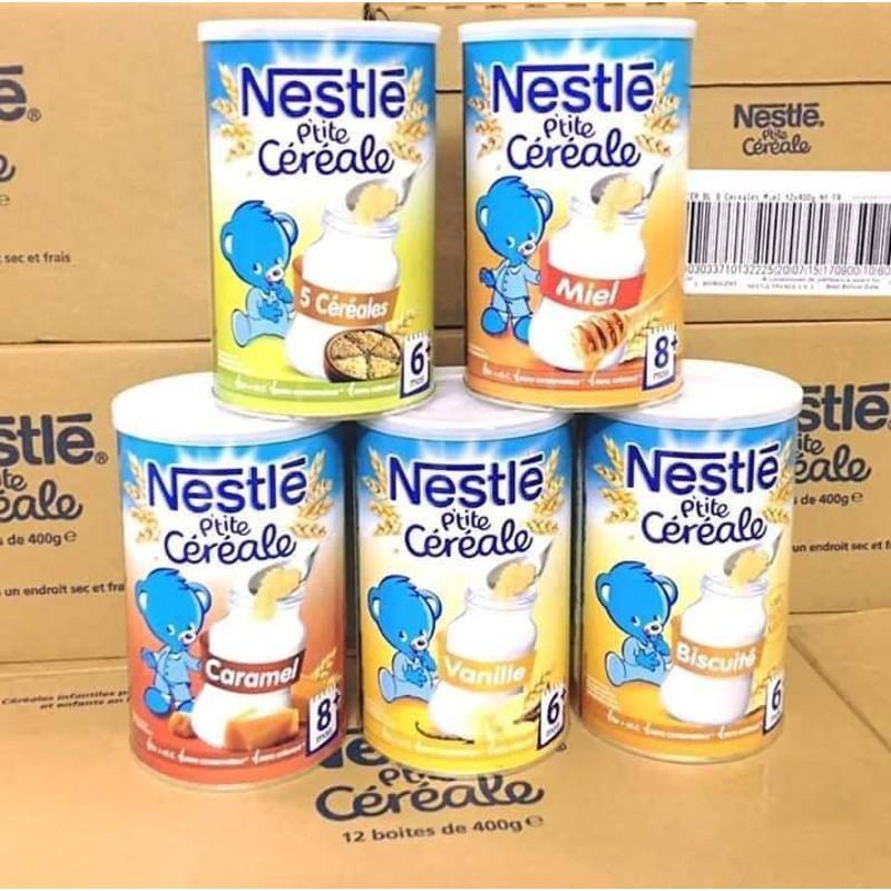Bột pha sữa Nestle 8M+ vị ngũ cốc loại 400g - Bột lắc sữa Nestle