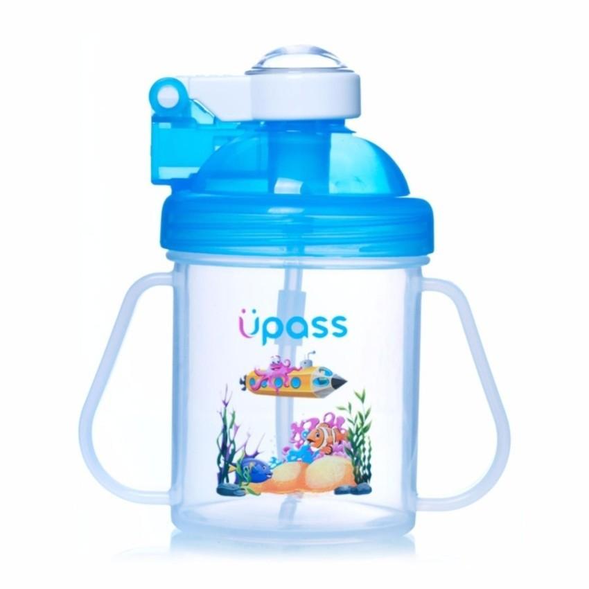 Bình nước có ống hút nhựa cứng (chống cắn thủng) Upass - 2941367 , 908024787 , 322_908024787 , 98000 , Binh-nuoc-co-ong-hut-nhua-cung-chong-can-thung-Upass-322_908024787 , shopee.vn , Bình nước có ống hút nhựa cứng (chống cắn thủng) Upass