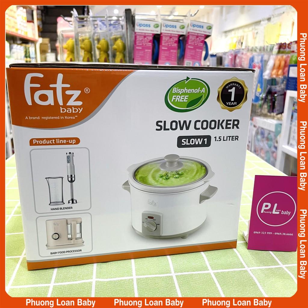 Nồi nấu chậm Fatz baby Slow 1 1.5L FB9015MH