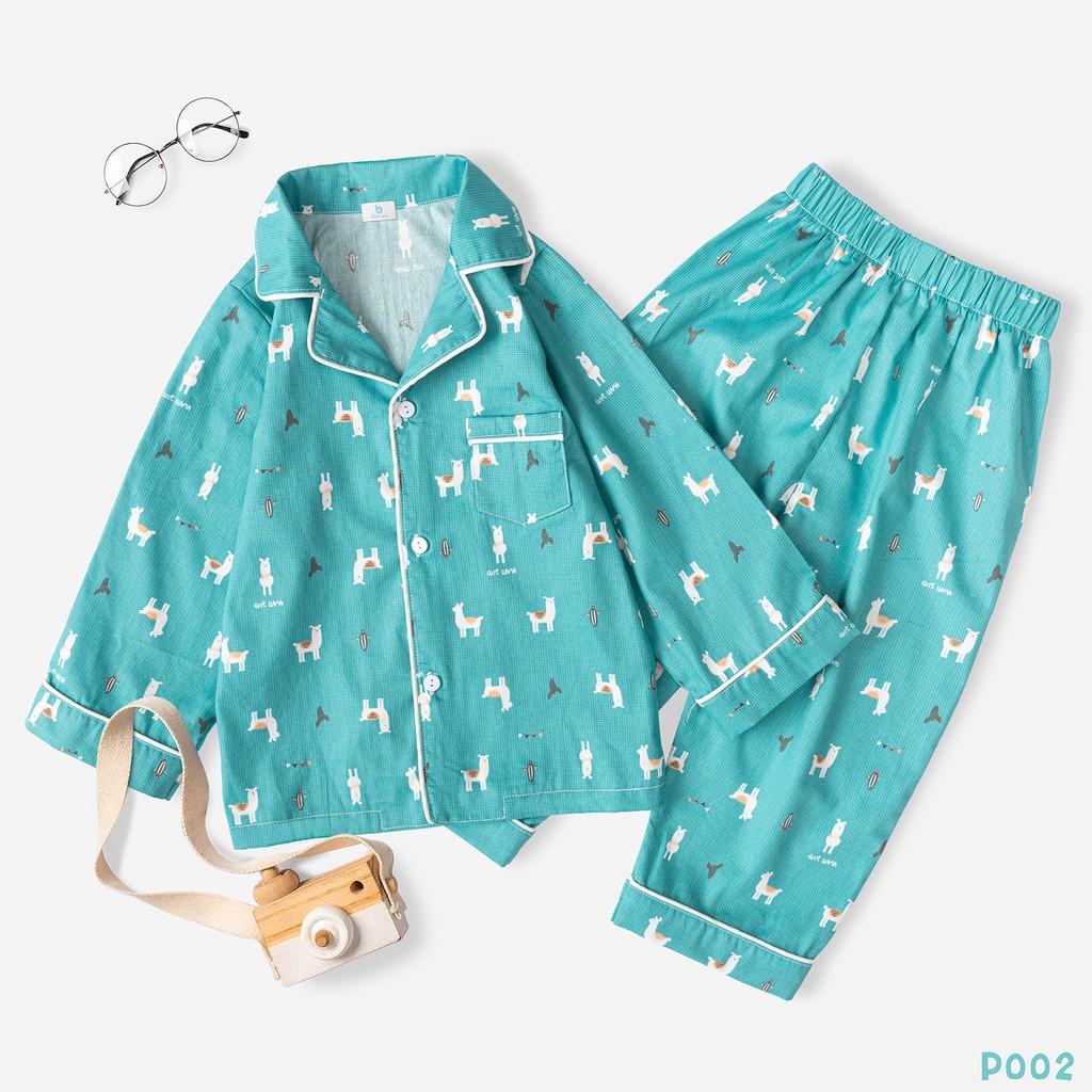 Bộ Pijama Chất Liệu Cao Cấp Hình Siêu Ngộ Nghĩnh Thời Trang BELLO LAND