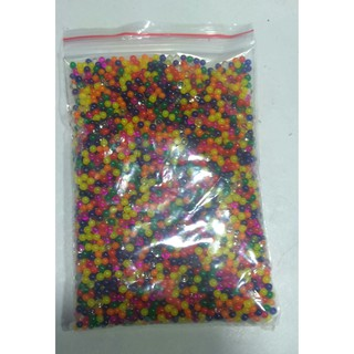 Hạt nở nguyên liệu làm slime gói 100g khoảng 5000 hạt nhỏ