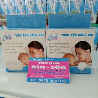 Miếng lót thấm sữa bằng vải Good mama hộp 8 miếng thumbnail