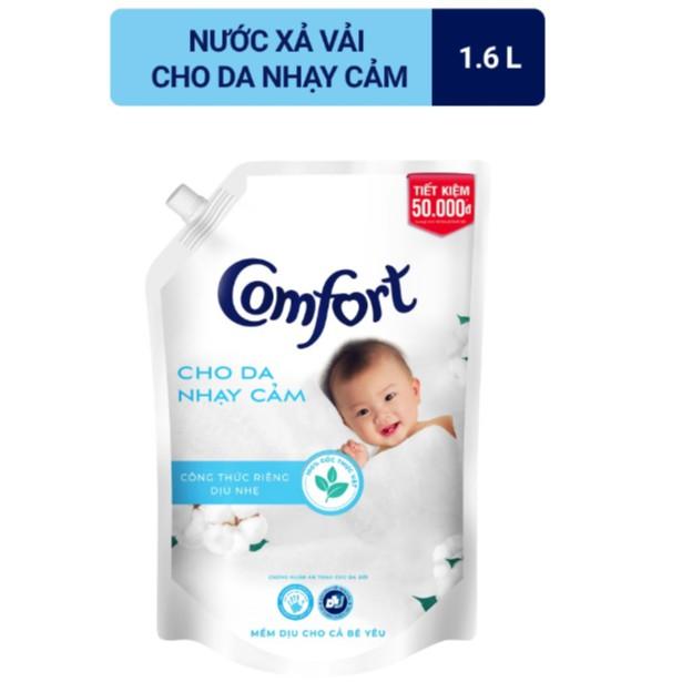 Nước Xả Vải Comfort Cho Da Nhạy Cảm Túi 1.6 Lít