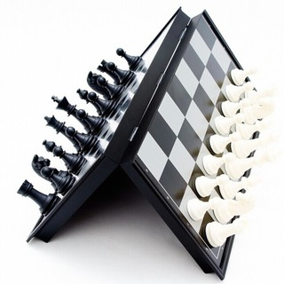 Exquisite Folding Magnetic Chessboard Competition International Chess Game Toy