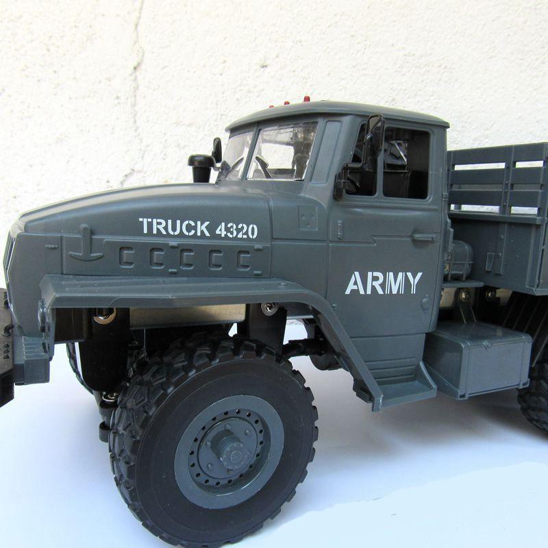 Xe tải quân sự MZ Army Truck 4320 - Ural 6x6 1:12