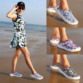 Giày Sandal Slip-on nữ đi biển khô thoáng