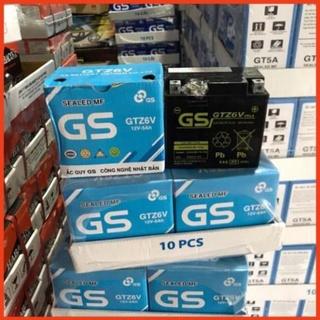 Bình Ắc Quy Khô GS GTZ6V (12V-5Ah) - Dành cho xe tay ga Honda, Y thumbnail