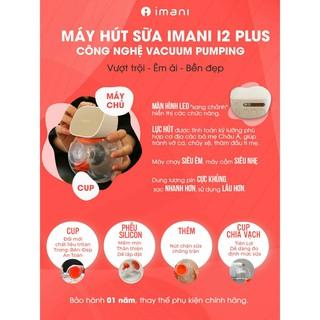 Máy hút sữa không dây IMANI I2 & IMANI I2 Plus Hàn Quốc chính hãng – Bảo hành 1 năm.
