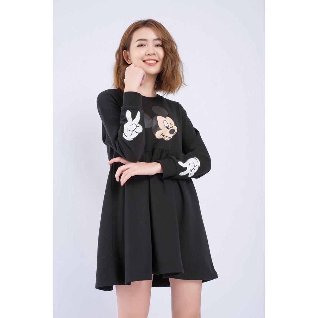 Váy Nữ Babydoll Mickey Boo