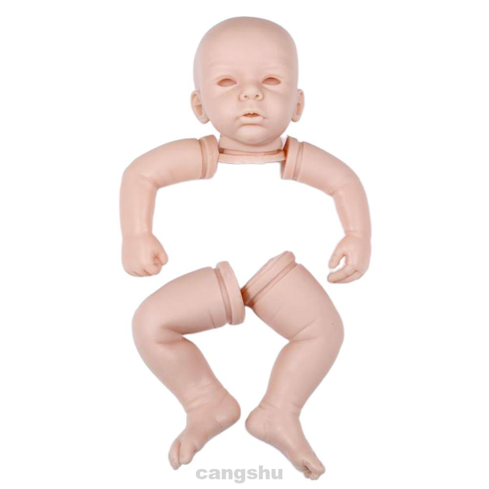 20inch Simulation Adorable Lifelike Birthday Gift Kids Toy Soft Vinyl Reborn Baby Doll Kits