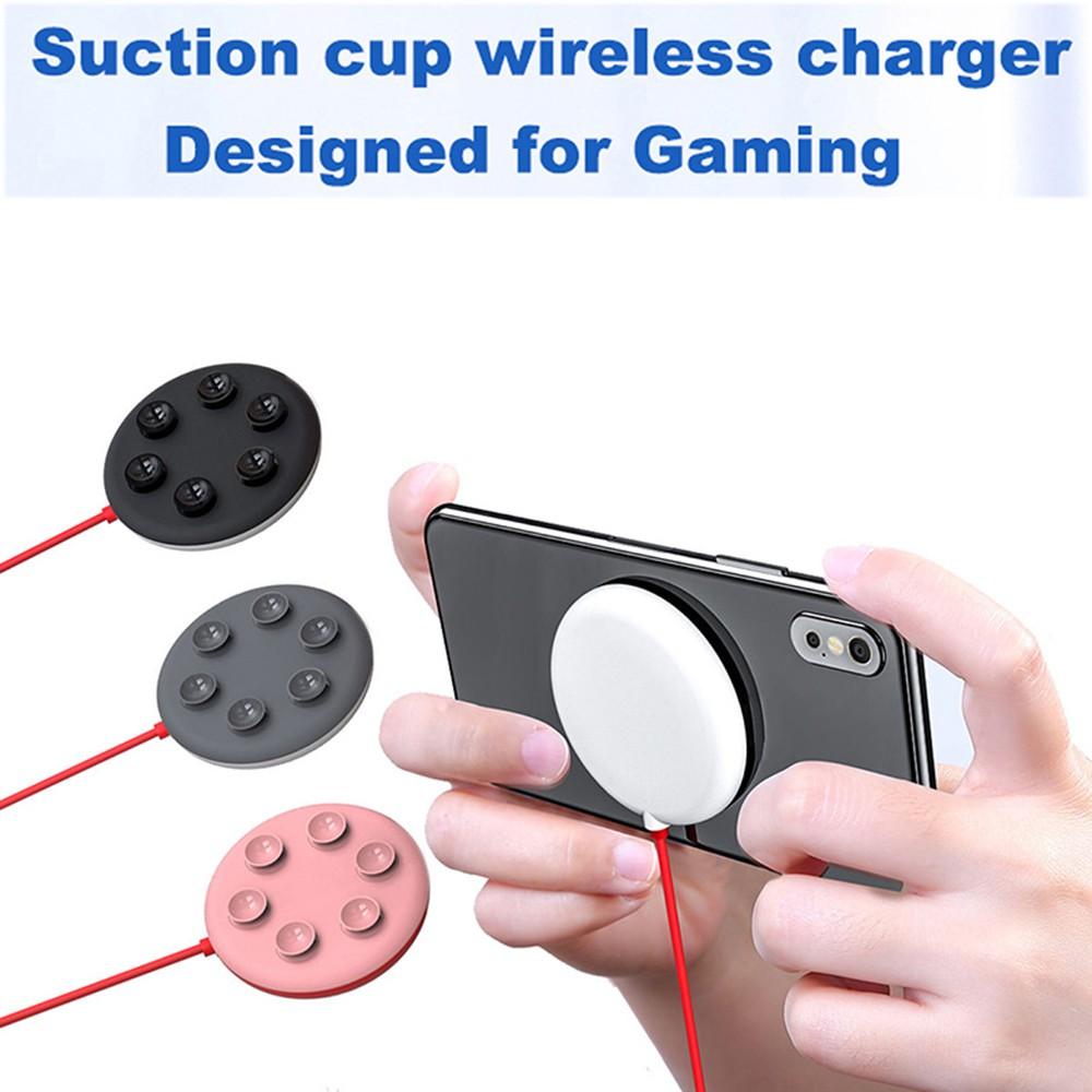Đế Sạc Nhanh Không Dây W1 Hình Con Nhện Cho Iphone Samsung Xiaomi Và Phụ Kiện