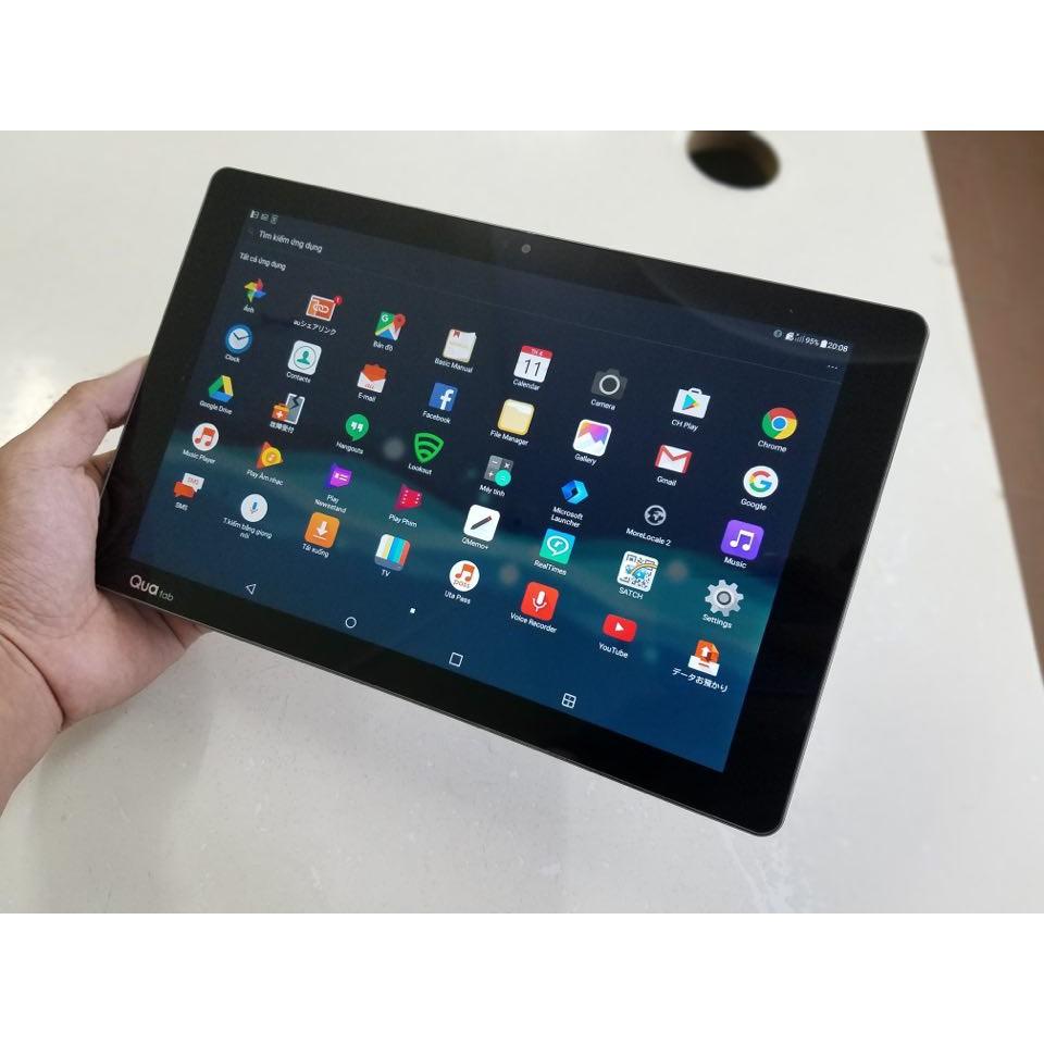 Máy Tính Bảng LG Qua Tab PZ 10.1 inch FullHD+/ Tiếng Anh, Android 7.0, Chống nước - Nhập Khẩu Nhật Bản.