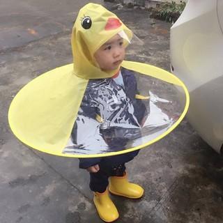 Áo mưa hình vịt UFO