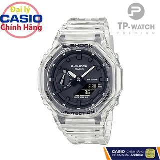 Đồng Hồ Nam Casio G-Shock GA-2100SKE-7ADR Chính Hãng Casio G-Shock GA-2100SKE-7A Transparent Pack Dây Nhựa thumbnail