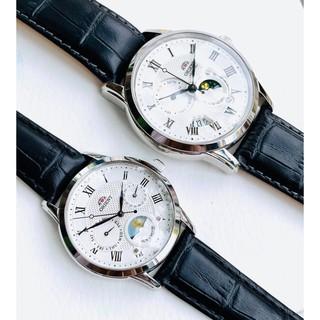 Đồng hồ đôi Orient Sun & Moon - Máy Automatic nam, Máy Quartz Pin nữ - Kính Sapphire thumbnail