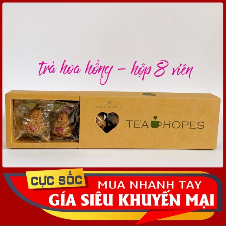 Tea Hopes - Trà viên thảo mộc hoa hồng - 105g