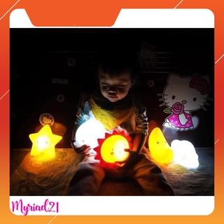 Sale – ĐÈN NGỦ TRĂNG SAO KEM CHO BÉ – Myriad21