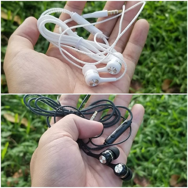 Tai nghe giá rẻ L10 có mic, khuyến mãi tặng hộp đựng + nút tai