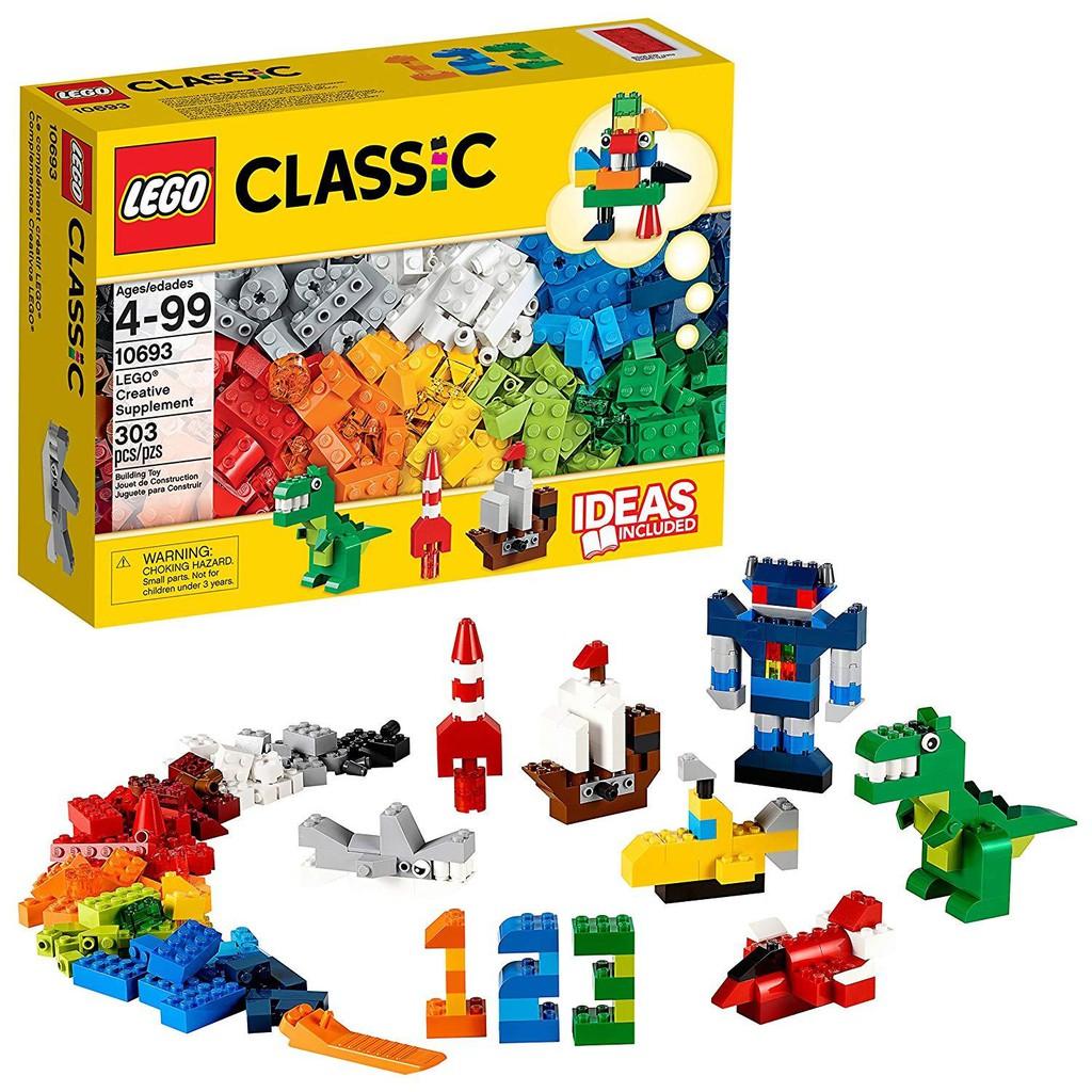 Đồ chơi lego classic 10693 - Hộp gạch sáng tạo bổ sung, Giá tháng 9/2020