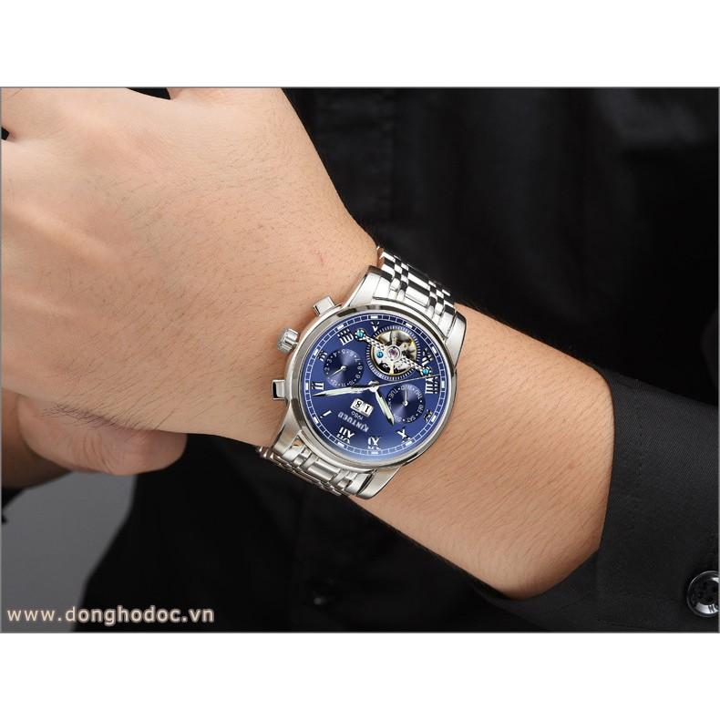 Đồng hồ Cơ Nam KINYUED JAYDEN - Dây Thép Đúc Đặt - Máy Automatic cao