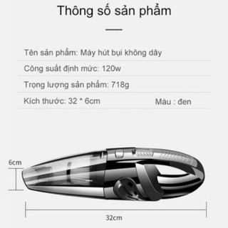 Máy hút bụi cầm tay không dây Rundong R - 6053 mới 100% ( BẢO HÀNH 6 THÁNG )