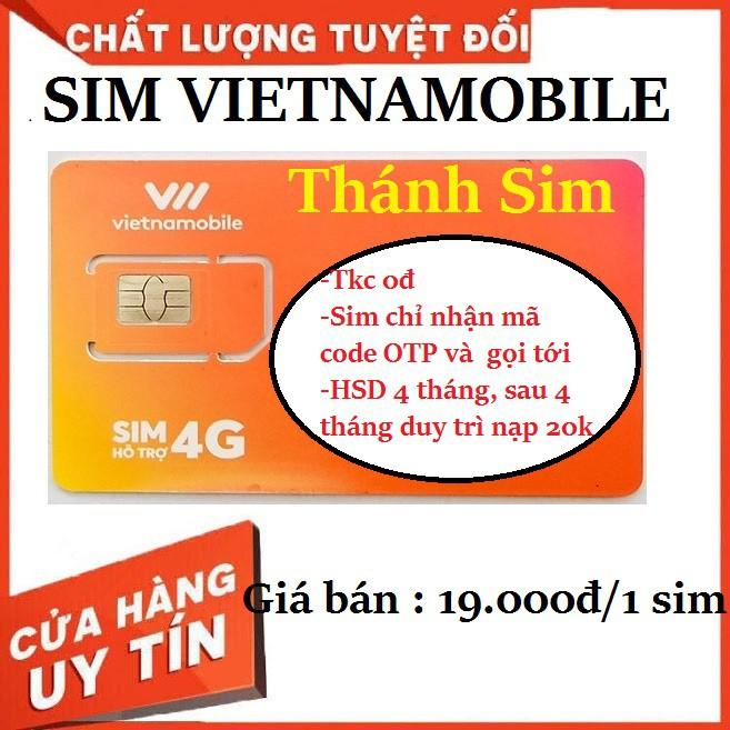 Sim vietnamobile gói cước thánh sim tài khoản 0đ