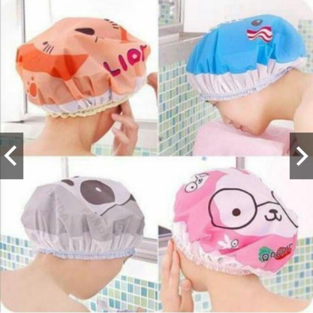 mũ trùm đầu khi tắm hình thú - 15265487 , 727942924 , 322_727942924 , 8500 , mu-trum-dau-khi-tam-hinh-thu-322_727942924 , shopee.vn , mũ trùm đầu khi tắm hình thú