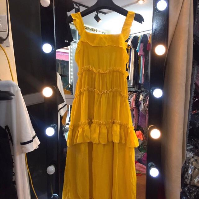 Váy maxi 2 dây