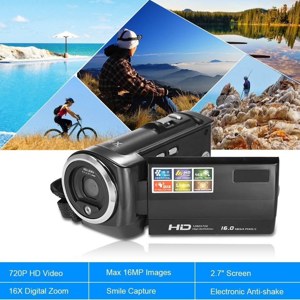 Máy quay phim cầm tay gia đình ELITEK HD