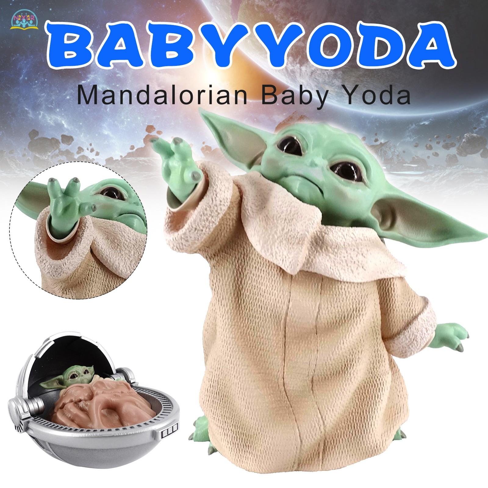 """Mô Hình Đồ Chơi Nhân Vật Yoda Trong Phim Hoạt Hình """"Star Little Baby"""""""