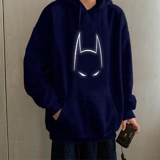 ⚜️FREESHIP⚜️ Aó khoác nỉ Hoodie phản quang Batman, Áo khoác nỉ nam nữ họa tiết hình cá tính – PQ04KN size dưới 75kg