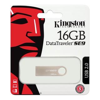 USB Kingston DTSE9 16GB , nhỏ gọn thiết kế vỏ kim loại chống nước – Bảo Hành 5 năm