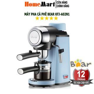 [Mã ELHA1010 Giảm 7% Tối Đa 300k] Máy Pha Cà Phê Espresso tự động Bear KFJ-A02N1 (Bảo hành chính hãng 12 tháng)