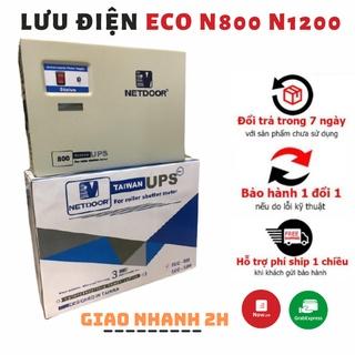 Lưu điện cửa cuốn , Bộ lưu điện UPS Netdoor ECO N800 N1200 Bảo hành 2 năm thumbnail