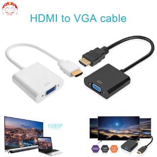 Đầu Chuyển Đổi Từ Cổng Hdmi Sang Vga 1080p Cho Pc Laptop Tablet