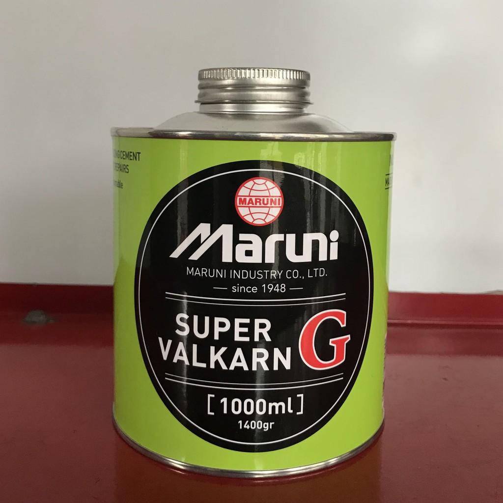 Keo vá lốp (Super Valkarn) thương hiệu Maruni đến từ Nhật Bản - Lọ 1000cc