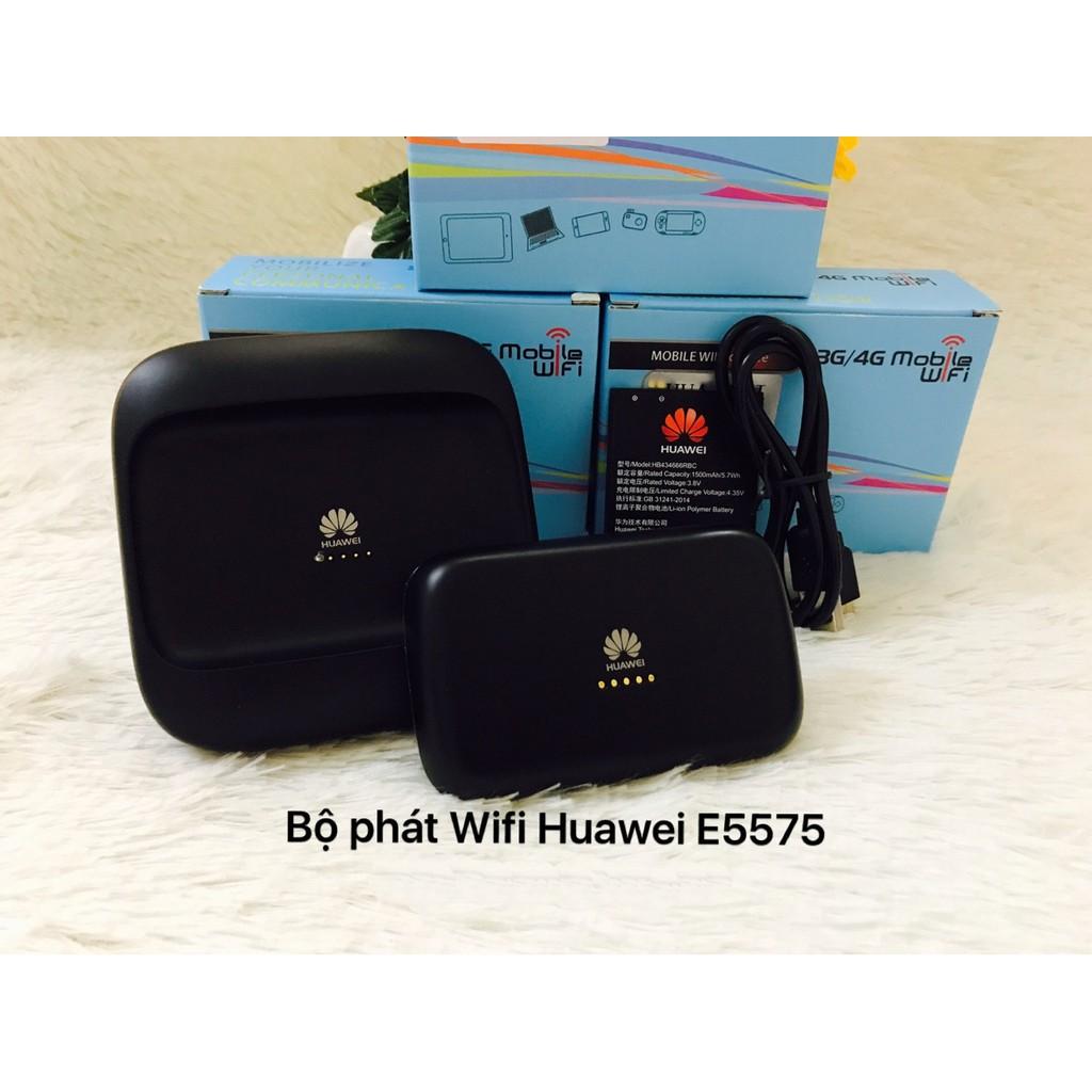 Bộ phát wifi bằng sim 3G/4G Huawei E5575
