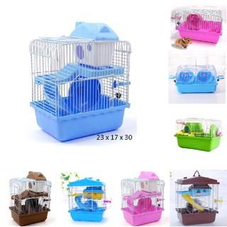 Lồng chuột hamster đầy đủ phụ kiện [ XẢ HÀNG LẤY TƯƠNG TÁC] [ Sản phẩm và phụ kiện như hình ] thumbnail