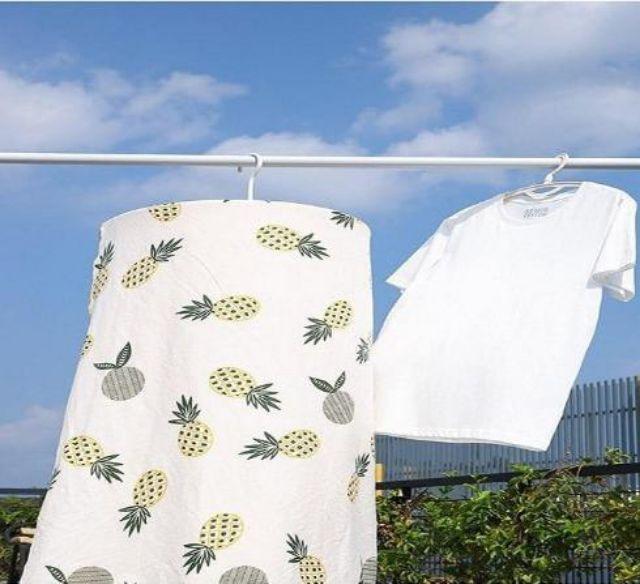 Móc treo chăn màn hình xoắn ốc thông minh - Móc treo chăn drap tiết kiệm  không gian tiện lợi, Giá tháng 1/2021