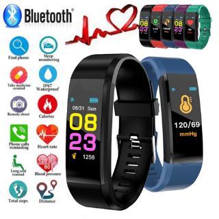 Đồng hồ thông minh chống nước theo dõi nhịp tim với màn hình theo dõi nhịp tim