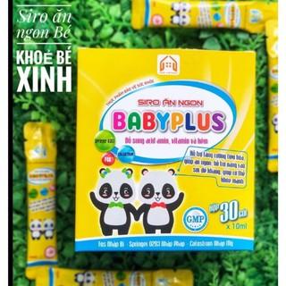 SIRO ĂN NGON BABYPLUS Siro Ăn Ngon Baby Plus giúp tăng cường tiêu hóa, giúp trẻ ăn ngon, cơ thể khỏe mạnh