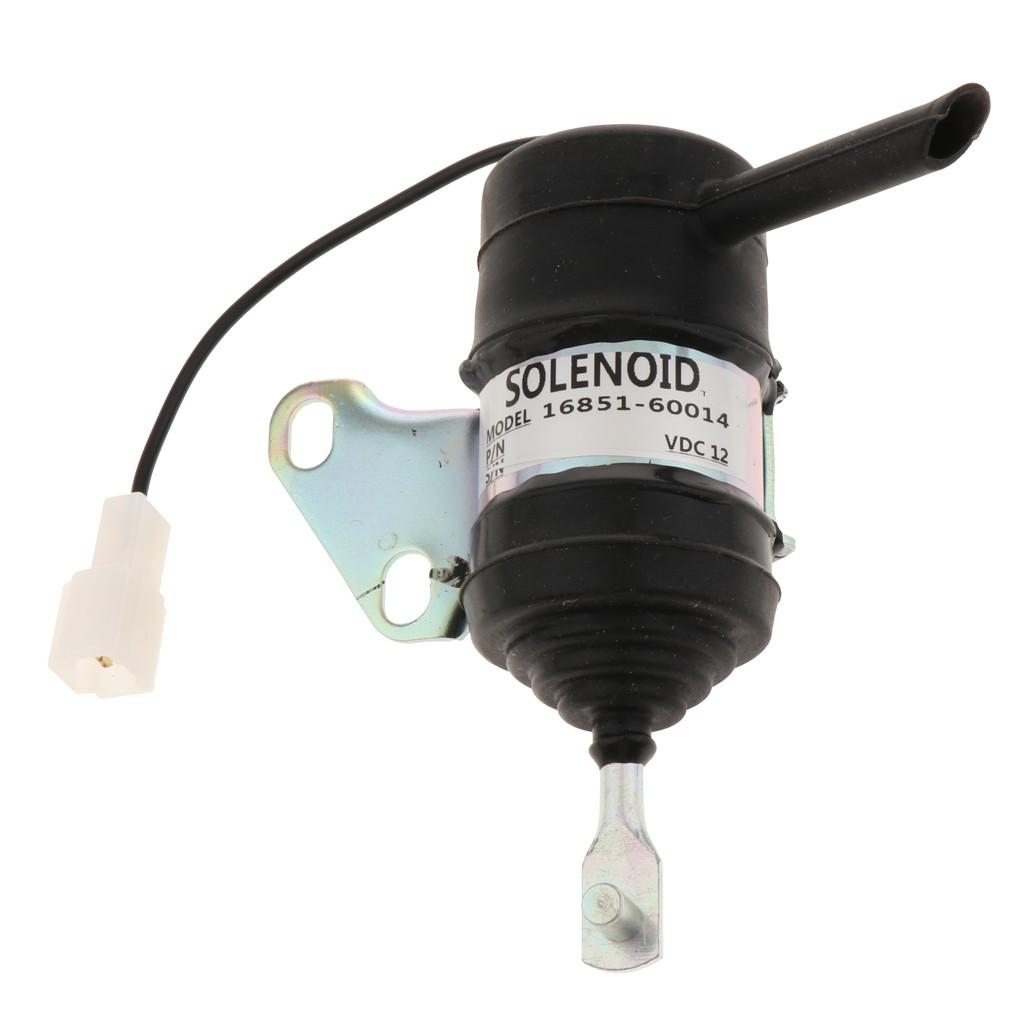 Solenoid ngắt nhiên liệu 16851-60014 cho máy xúc/máy kéo RTV/RTV900