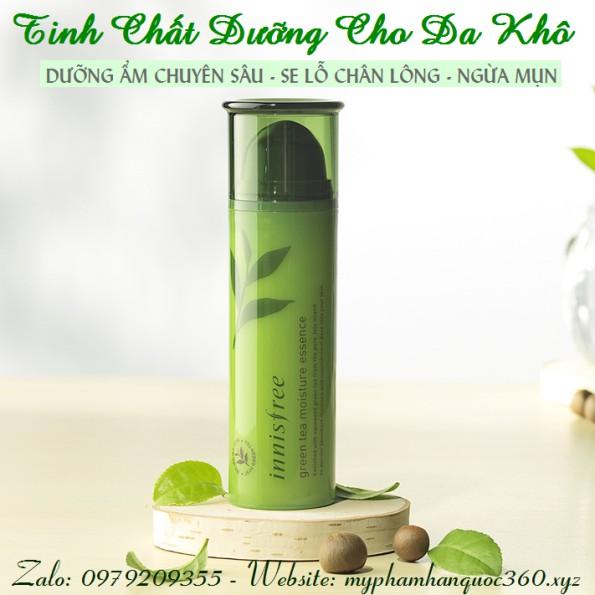Tinh Chất Dưỡng Từ Trà Xanh Dành Cho Da Khô – Innisfree Green Tea Moisture Essence