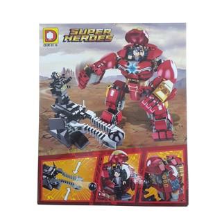 Bộ xếp hình người sắt lego Super heroes DLP2002